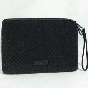 Vera Bradley Iconic RFID Wristlet Classic Black